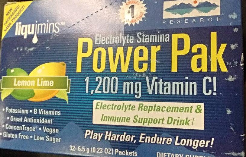 Power Pak 1,200mg of Vitamin C