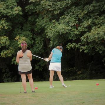 Golfing for Newberg High School