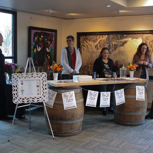 Grad Night Wine Table