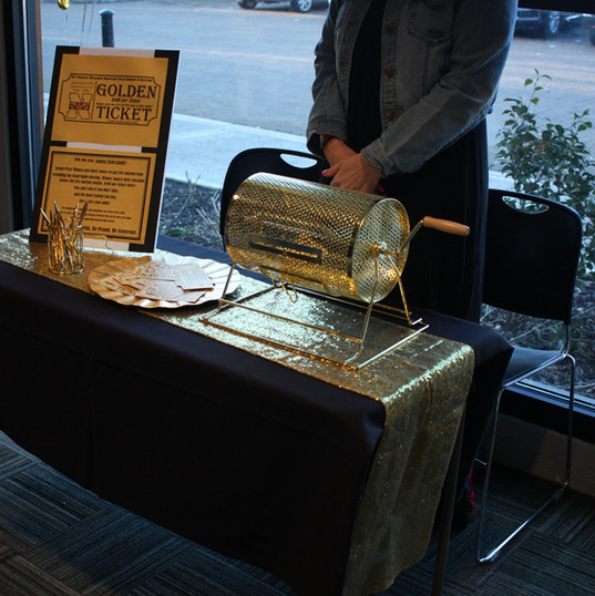 Golden Ticket Table