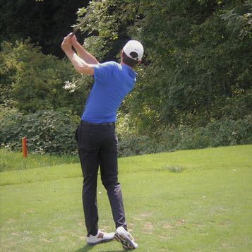 NHS Student Golfer