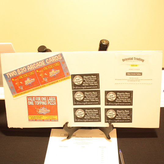 Silent Auction Package