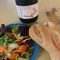 Bon Appetit GFU Salad & Bread