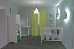 Projet d'une chambre d'enfant - 3D
