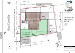 Plan de masse permis de construire