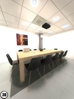 Projet d'une salle de réunion - 3D