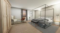 rendu 3D d'une chambre
