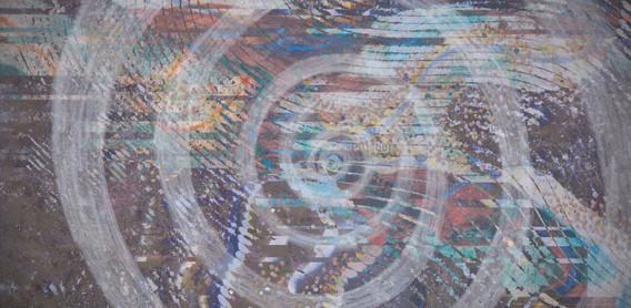 Strange sound became a spiral