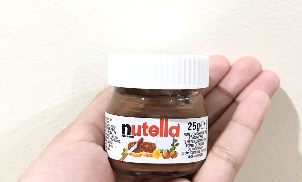 Nutella Mini Jar