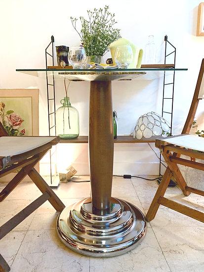 Pied de table bistrot années 50