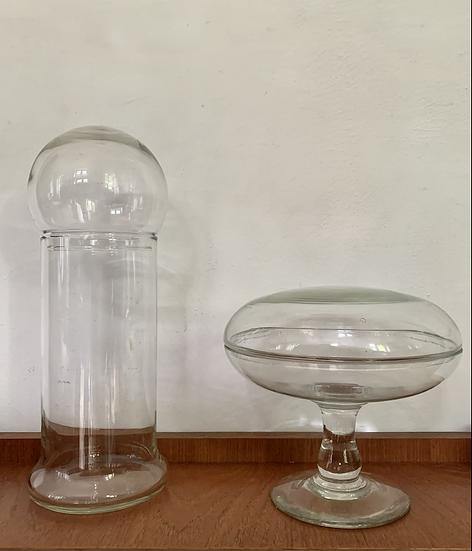Bonbonnières en verre