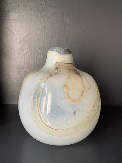 Vase verre soufflé épais