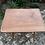 Thumbnail: Table rectangulaire en rotin et osier