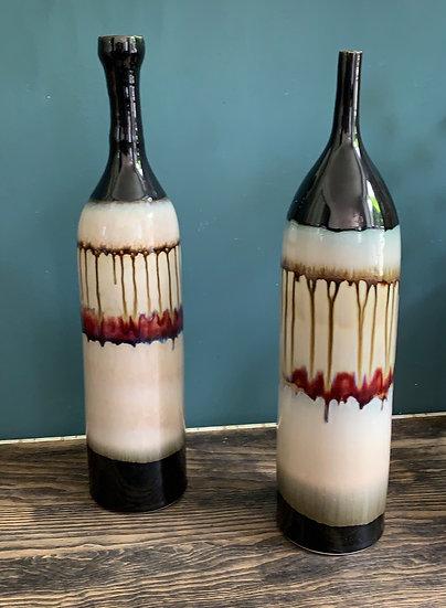 Ensemble vase céramique