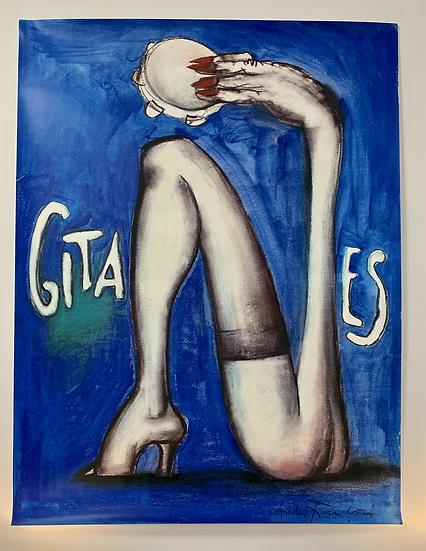 Affiches Gitanes 70's