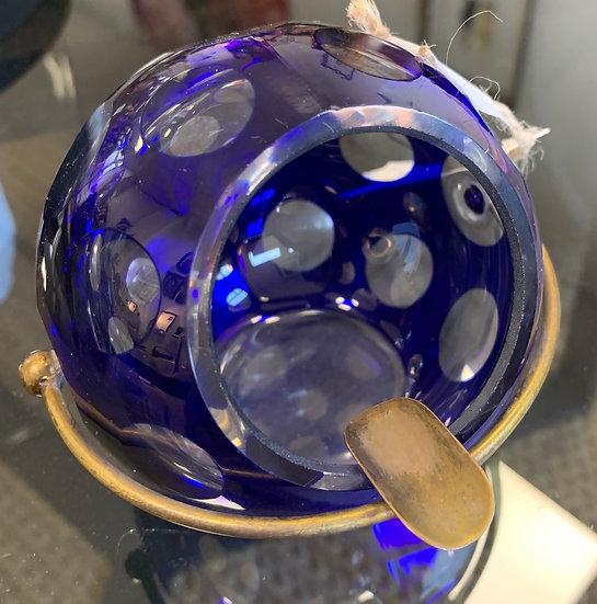 Cendrier cristal de bohème