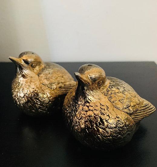 Salière et poivrier oiseaux