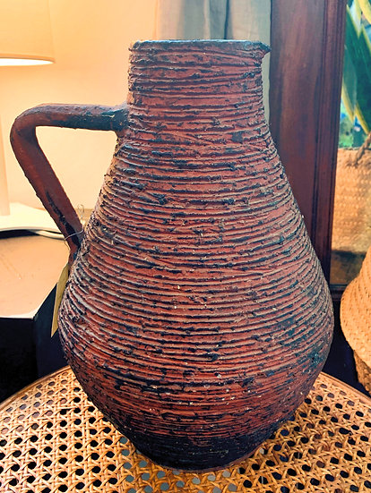 Grand pichet céramique Spara années 60