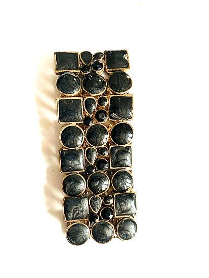 Bracelet céramique noir