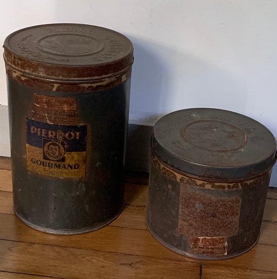 Boîtes anciennes Pierrot Gourmand