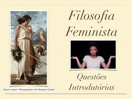 Minicurso: Filosofia feminista