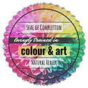 energy healing colour & art seal of comp