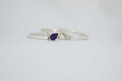 Bespoke silver jewellery made in Scotland