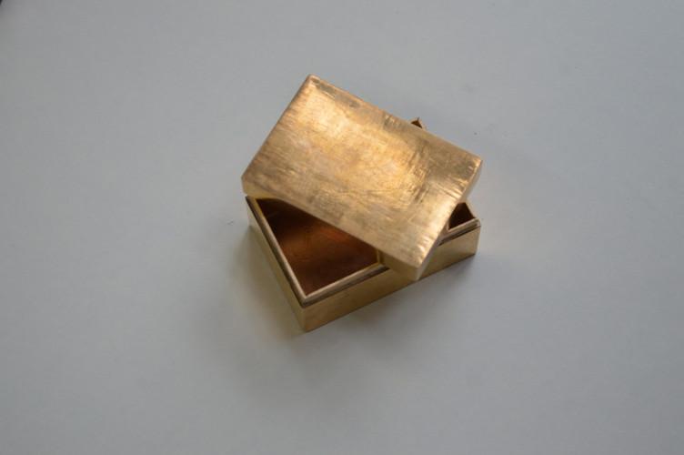 Gilding metal Box