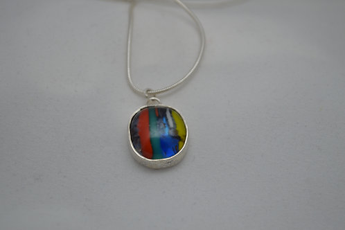 Handmade jewellery Scottish maker bespoke craft hand made kilnformed glass