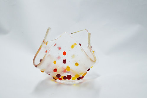 Niche homeware, contemporary glass work, kiln formed glass for the home