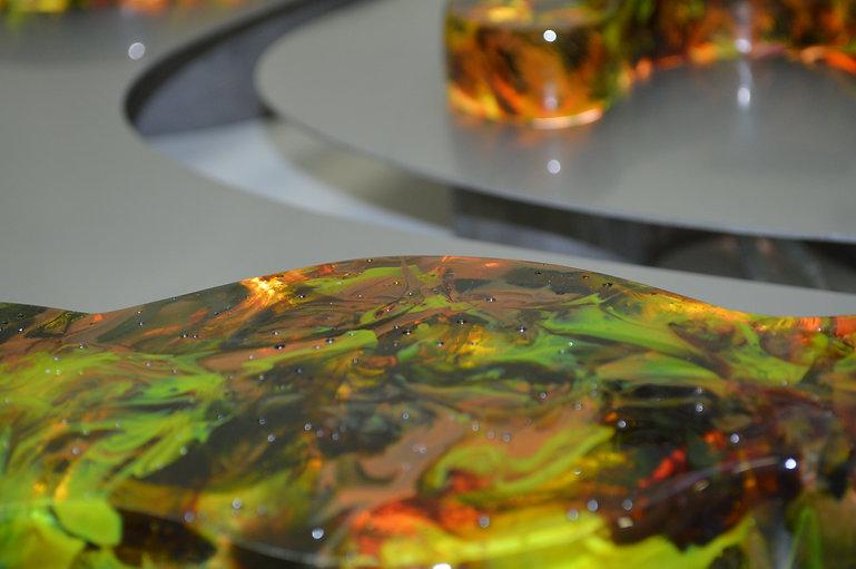 Contemporary Scottish Glass work