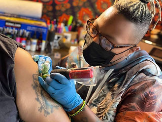 BlvqWulph tattooing