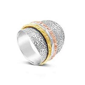 Gemini - Shield Spin Ring