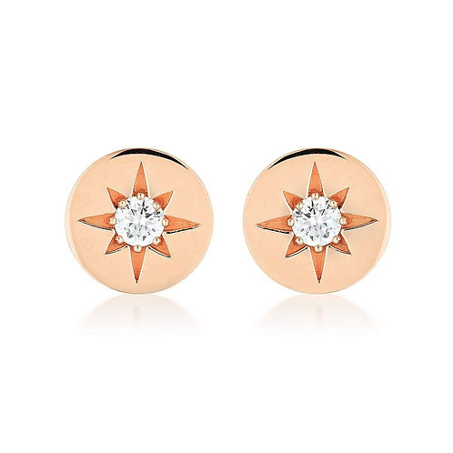 Georgini - Stellar Lights Rose Gold Twinkle Studs