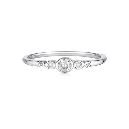 Georgini - Silver Penta Ring