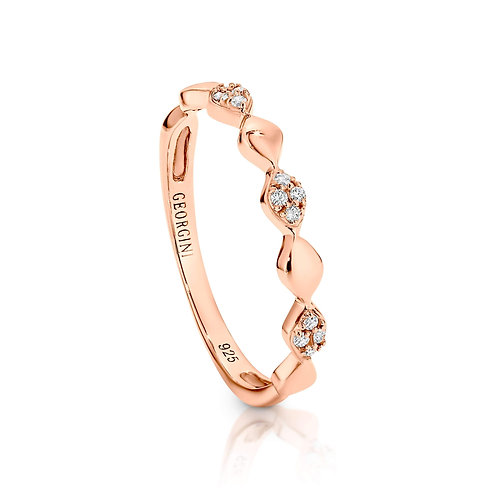 Georgini - Aurora Rose Gold Band