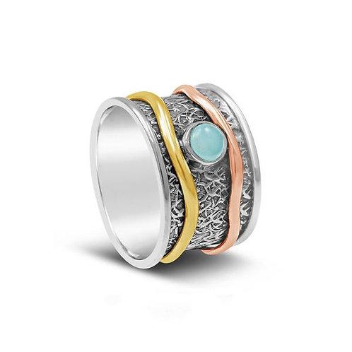 Aquarius - Flow Sterling Silver Ring