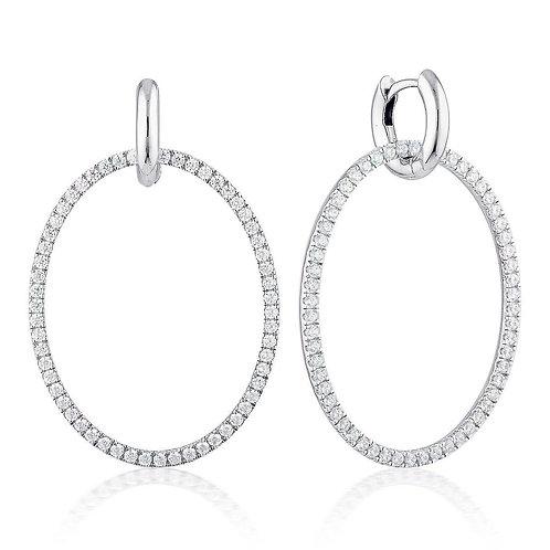Georgini - Julietta Oval Drop Earring