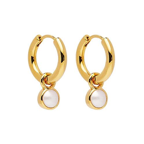 NAJO - Heavenly Pearl Gold Earring