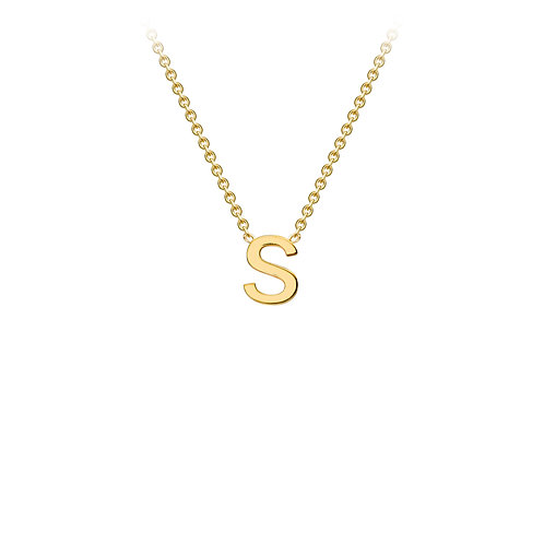 9 carat Gold Initial Necklace