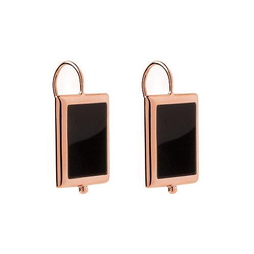 NAJO Mirage - Onyx earrings