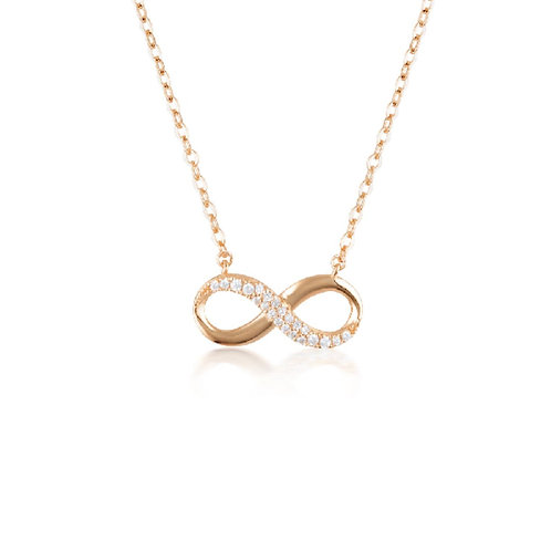 Georgini - Forever Infinity Pendant Rose Gold