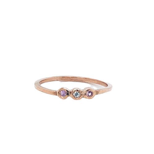 LOTTIE -Pink Sapphire
