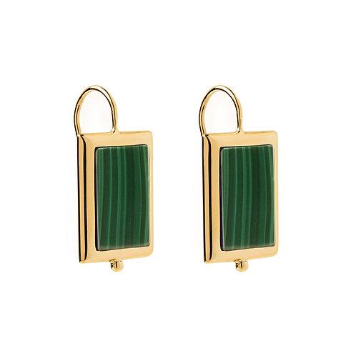 NAJO - Mirage Malachite Earrings