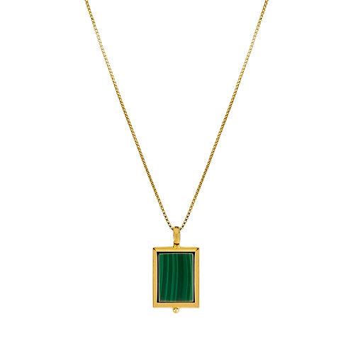 NAJO - Mirage Malachite Necklace