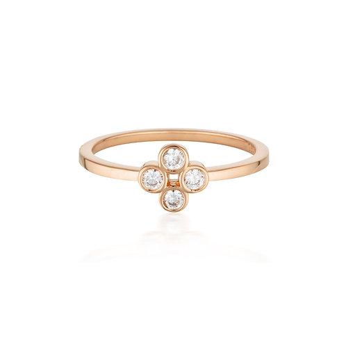 Georgini - Stellar Lights Rose Gold Twinkle Ring