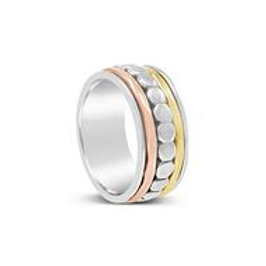 Aries - Simplistic Sterling Silver Band