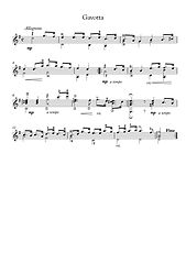 Guitar Baroque Suite I L Roncalli No Tab