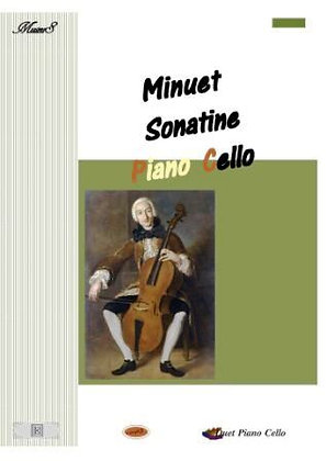 minuet Cello Piano duet  music sheet download
