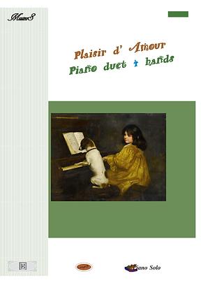 Plaisir Amour Piano Duet 4 Hands Sheet Music Pdf Mp3 Martini